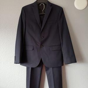 Ralph Lauren Boys Dark Navy/Black 2 piece suit set